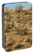 Wild Burros Portable Battery Charger