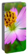 Wild Cosmos Flower Portable Battery Charger