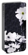 Wild Dogwood Blooms Portable Battery Charger