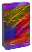 Wild Electric Sky In The Cosmos Portable Battery Charger