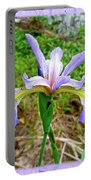 Wild Flag - Iris Versicolor Portable Battery Charger