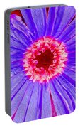 Wild Flower Close Up Portable Battery Charger