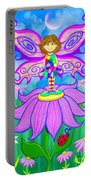 Wild Flower Fairy  Portable Battery Charger