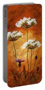 Wild Flowers 041 Portable Battery Charger