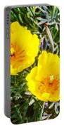 Wild Flowers 2 Portable Battery Charger