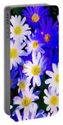 Wild Flowers 3 Portable Battery Charger