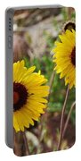 Wild Flowers Above The Rim Portable Battery Charger