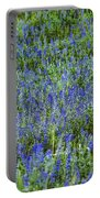 Wild Flowers Blanket Portable Battery Charger