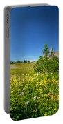 Wild Flowers Glacier National Paintedpark   Portable Battery Charger