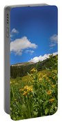 Wild Flowers In Rocky Mountain National Park Portable Battery Charger