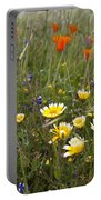 Wild Flowers Russian Ridge Portable Battery Charger
