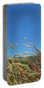 Wild Foxtail Grass In The Breeze II Portable Battery Charger