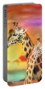Wild Generations - Giraffes  Portable Battery Charger