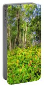 Wild Ginger And Ohia Trees Portable Battery Charger
