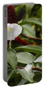Wild Ginger Blooms Portable Battery Charger
