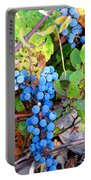 Wild Grapes Portable Battery Charger