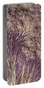 Wild Grasses Blowing In The Breeze  Portable Battery Charger
