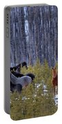 Wild Horses Of The Ghost Forest Portable Battery Charger