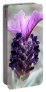 Wild Lavender Portable Battery Charger