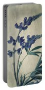 Wild Lupine Portable Battery Charger