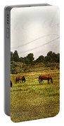 Wild Mustangs Carpe Diem Portable Battery Charger
