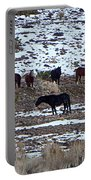 Wild Nevada Mustangs Portable Battery Charger