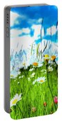 Wild Ones - Daisy Meadow Portable Battery Charger