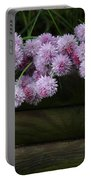 Wild Onion Flowers Portable Battery Charger