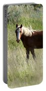 Wild Palomino Portable Battery Charger by Sabrina L Ryan