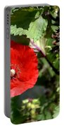 Wild Poppy Portable Battery Charger