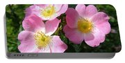 Wild Roses 1 Portable Battery Charger