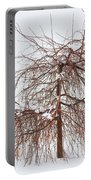 Wild Springtime Winter Tree Portable Battery Charger
