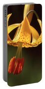 Wild Tiger Lily Portable Battery Charger