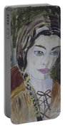 Wild West Woman Portable Battery Charger