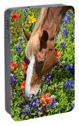 Wildflower Feast Portable Battery Charger