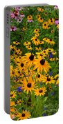 Wildflower Gold Portable Battery Charger