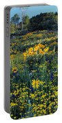 Wildflower Hillside Portable Battery Charger