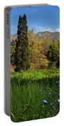 Wildflower Meadow At Descanso Gardens Portable Battery Charger