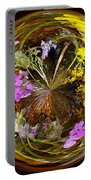 Wildflower Paperweight Portable Battery Charger