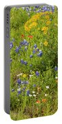 Wildflower Patch Portable Battery Charger