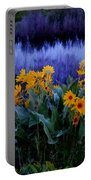 Wildflower Reflection Portable Battery Charger