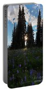 Wildflower Sunburst Portable Battery Charger