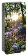 Wildflower Sunset Portable Battery Charger