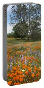 Wildflower Wonderland 3 Portable Battery Charger