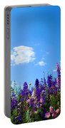 Wildflowers #10 Portable Battery Charger