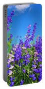 Wildflowers #11 Portable Battery Charger