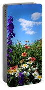 Wildflowers #7 Portable Battery Charger