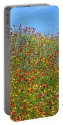 Wildflowers And Sky 2am-110541 Portable Battery Charger