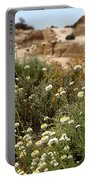 Wildflowers At Mungo National Park Portable Battery Charger