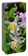 Wildflowers Greeting Card Portable Battery Charger